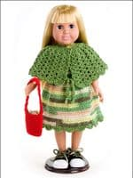 Dress-up Fashions for 18 inch Dolls Crochet Book AA 871039 DISCONTINUED